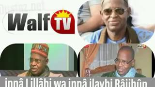 Video – Mbourtv : Incroyable Sidy Lamine Niass avait annoncé le jour de son décès un talata (mardi ) Alahou Akbar